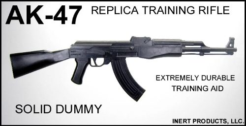 AK-47 Replica - Solid Dummy Training Rifle