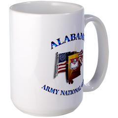 ALABAMAARNG - M01 - 03 - Alabama Army National Guard - Large Mug