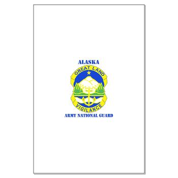 ALASKAARNG - M01 - 02 - DUI - Alaska National Guard with text Large Poster