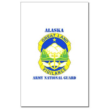 ALASKAARNG - M01 - 02 - DUI - Alaska National Guard with text Mini Poster Print