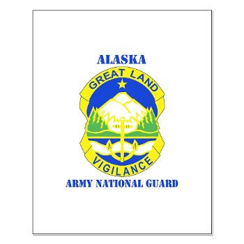 ALASKAARNG - M01 - 02 - DUI - Alaska National Guard with text Small Poster