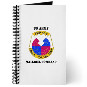 AMC - M01 - 02 - DUI - Army Materiel Command with Text - Journal