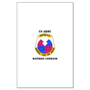 AMC - M01 - 02 - DUI - Army Materiel Command with Text - Large Poster