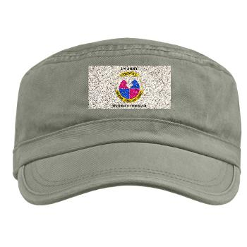 AMC - A01 - 01 - DUI - Army Materiel Command with Text - Military Cap