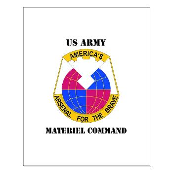 AMC - M01 - 02 - DUI - Army Materiel Command with Text - Small Poster