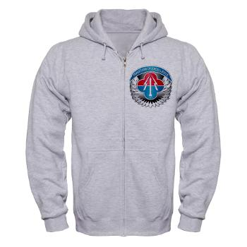 AMLCMC - A01 - 03 - Aviation and Missile Life Cycle Management Command - Zip Hoodie