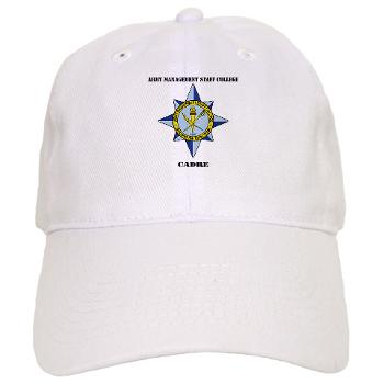 AMSCC - A01 - 01 - DUI - Army Management Staff College Cadre with Text - Cap