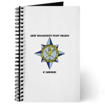 AMSCC - M01 - 02 - DUI - Army Management Staff College Cadre with Text - Journal
