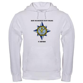 AMSCC - A01 - 03 - DUI - Army Management Staff College Cadre with Text - Long Sleeve T-Shirt