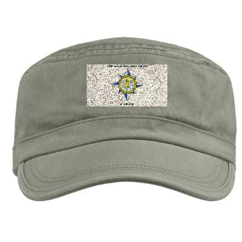 AMSCC - A01 - 01 - DUI - Army Management Staff College Cadre with Text - Military Cap