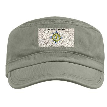 AMSCC - A01 - 01 - DUI - Army Management Staff College Headquarters with Text - Military Cap