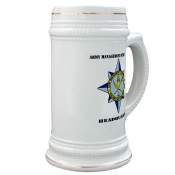 AMSCC - M01 - 03 - DUI - Army Management Staff College Headquarters with Text - Stein