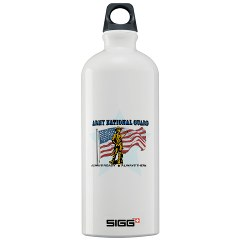 ANG - M01 - 02 - Army National Guard Sigg Water Bottle 1.0L