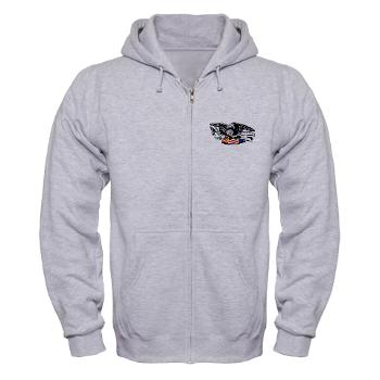 ARB - A01 - 03 - DUI - Albany Recruiting Bn - Zip Hoodie