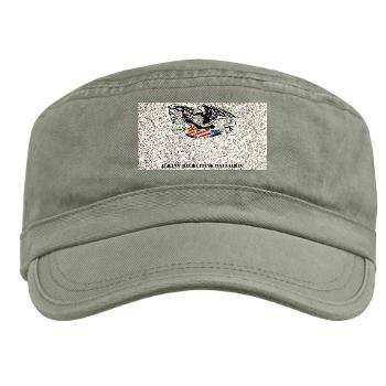 ARB - A01 - 01 - DUI - Albany Recruiting Bn with Text - Military Cap