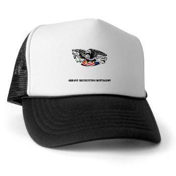 ARB - A01 - 02 - DUI - Albany Recruiting Bn with Text - Trucker Hat