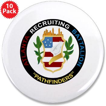 "ARB - M01 - 01 - DUI - Atlanta Recruiting Bn 3.5"" Button (10 pack)"