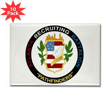 ARB - M01 - 01 - DUI - Atlanta Recruiting Bn Rectangle Magnet (10 pack)