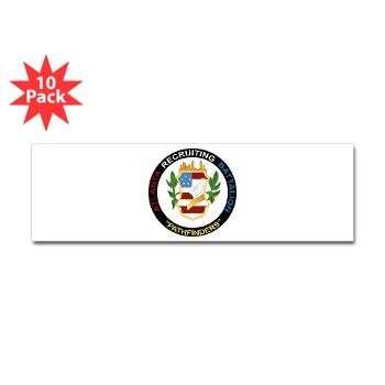 ARB - M01 - 01 - DUI - Atlanta Recruiting Bn Sticker (Bumper 10 pk)