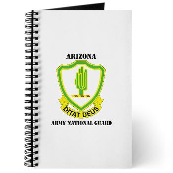 ARIZONAARNG - M01 - 02 - DUI - Arizona Army National Guard with Text Journal