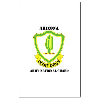 ARIZONAARNG - M01 - 02 - DUI - Arizona Army National Guard with Text Mini Poster Print