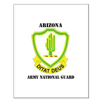 ARIZONAARNG - M01 - 02 - DUI - Arizona Army National Guard with Text Small Poster