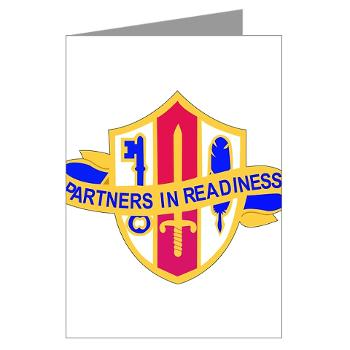 ARJSTSC - M01 - 02 - DUI - ARMY Reserve Joint and Special Troops Support Command - Greeting Cards (Pk of 10)