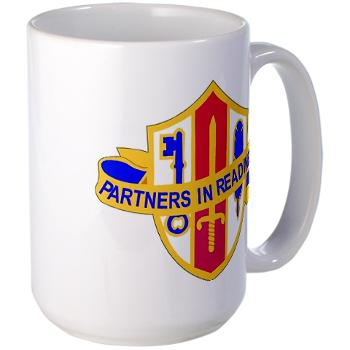 ARJSTSC - M01 - 03 - DUI - ARMY Reserve Joint and Special Troops Support Command - Large Mug