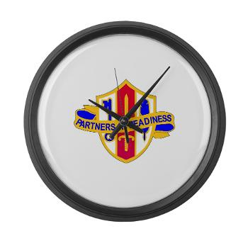 ARJSTSC - M01 - 03 - DUI - ARMY Reserve Joint and Special Troops Support Command - Large Wall Clock