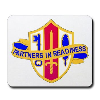 ARJSTSC - M01 - 03 - DUI - ARMY Reserve Joint and Special Troops Support Command - Mousepad