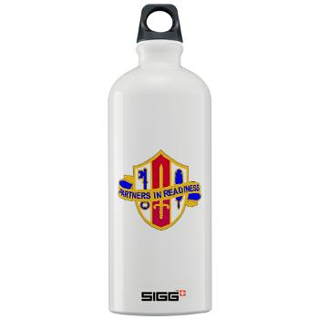 ARJSTSC - M01 - 03 - DUI - ARMY Reserve Joint and Special Troops Support Command - Sigg Water Bottle 1.0L
