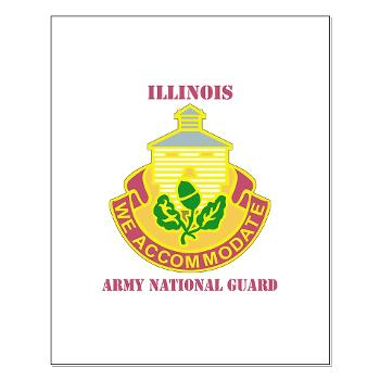 ARNGILLINOIS - M01 - 02 - DUI - ILLINOIS ARNG with Text - Small Poster