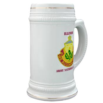 ARNGILLINOIS - M01 - 03 - DUI - ILLINOIS ARNG with Text - Stein