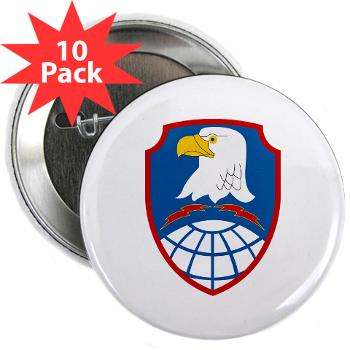 "ASMDC - M01 - 01 - SSI - US - Army Space & Missile Defense Command - 2.25"" Button (10 pack)"