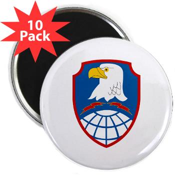 "ASMDC - M01 - 01 - SSI - US - Army Space & Missile Defense Command - 2.25"" Magnet (10 pack)"