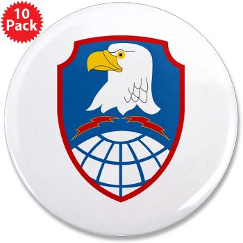 "ASMDC - M01 - 01 - SSI - US - Army Space & Missile Defense Command - 3.5"" Button (10 pack)"