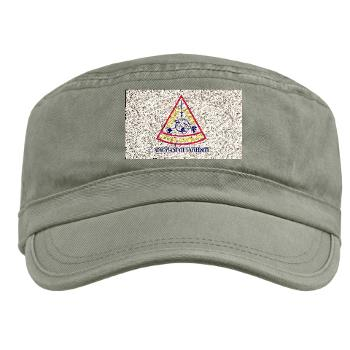 ASU - A01 - 01 - Augusta State University with Text - Military Cap