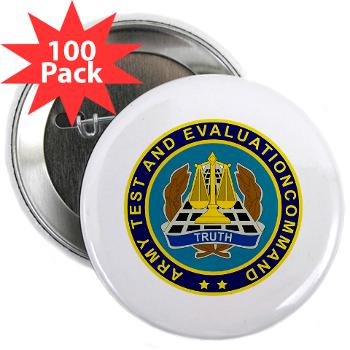 "ATEC - M01 - 01 - U.S. Army Test and Evaluation Command (ATEC) - 2.25"" Button (100 pack)"