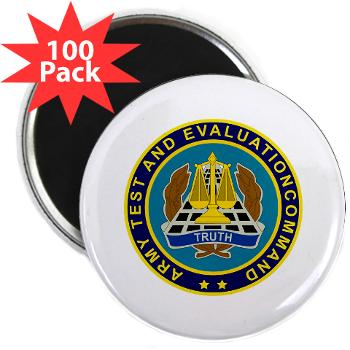 "ATEC - M01 - 01 - U.S. Army Test and Evaluation Command (ATEC) - 2.25"" Magnet (100 pack)"