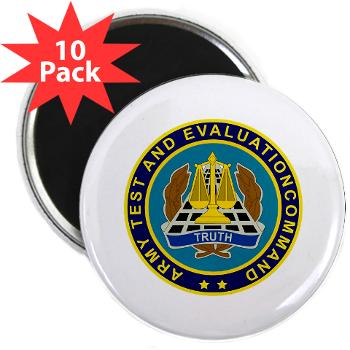 "ATEC - M01 - 01 - U.S. Army Test and Evaluation Command (ATEC) - 2.25"" Magnet (10 pack)"