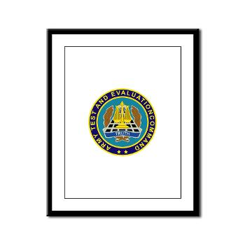 ATEC - M01 - 02 - U.S. Army Test and Evaluation Command (ATEC) - Framed Panel Print