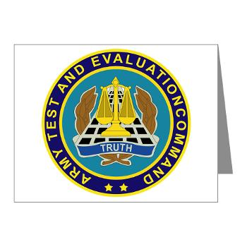ATEC - M01 - 02 - U.S. Army Test and Evaluation Command (ATEC) - Note Cards (Pk of 20)