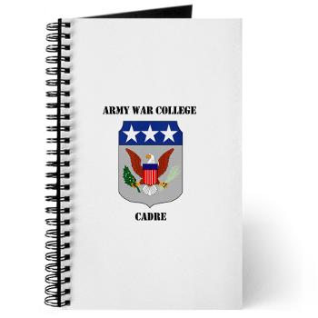 AWCC - M01 - 02 - Army War College Cadre with Text Journal