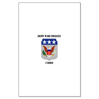 AWCC - M01 - 02 - Army War College Cadre with Text Large Poster