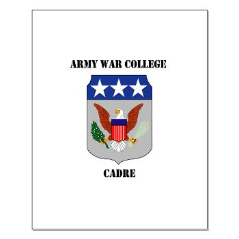 AWCC - M01 - 02 - Army War College Cadre with Text Small Poster