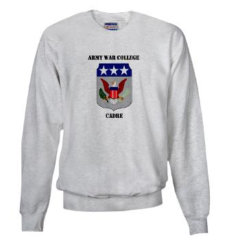 AWCC - A01 - 03 - Army War College Cadre with Text Sweatshirt