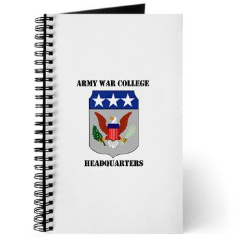 AWCH - M01 - 02 - Army War College Headquarters with Text Journal