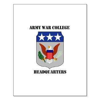 AWCH - M01 - 02 - Army War College Headquarters with Text Small Poster