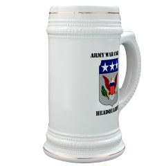 AWCH - M01 - 03 - Army War College Headquarters with Text Stein