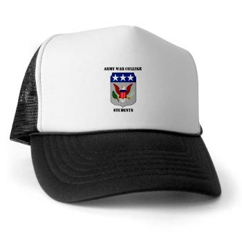 AWCS - A01 - 02 - Army War College Students with Text Trucker Hat
